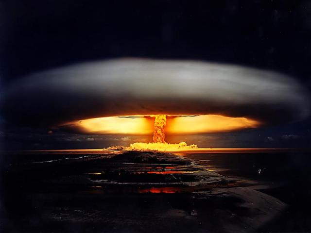 Tsar Bomb nuclear explosion