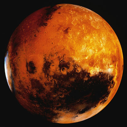 image of Mars planet